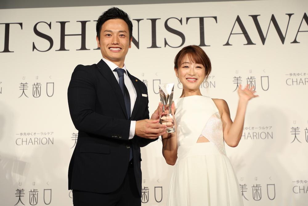 鈴木奈々「BEST SHINIST AWARD 2018」にて。