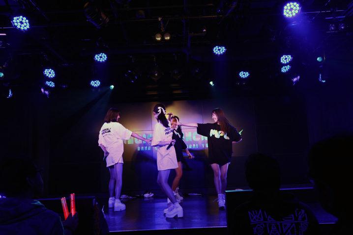 マジカル・パンチライン/2018年11月18日、AKIBAカルチャーズ劇場でのライブにて