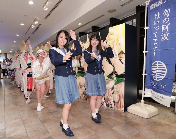 STU48メンバー「渋谷de阿波おどり」に参加
