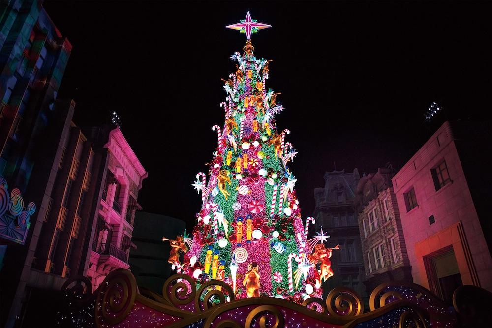 ユニバーサル・スタジオ・ジャパン(USJ)のクリスマスツリー