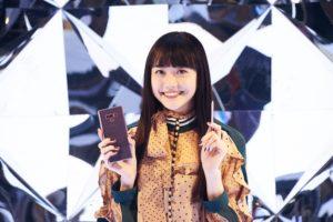松井愛莉/Galaxy Studio Roppongi Hillsにて開催された「Galaxy Note9」を活用した「Galaxy Sessions」にて(2018年12月18日)