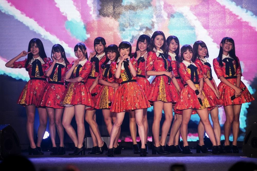 AKB48 Team TP/アジア最大級のインフルエンサーの祭典『COOL JAPAN FEST 2018』にて(2018年12月8日(土)・台湾)
