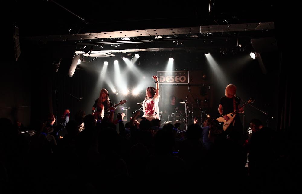 愛沢絢夏/主催イベント「Are You OK? Special」にて(2018年12月27日、渋谷DESEOにて開催)