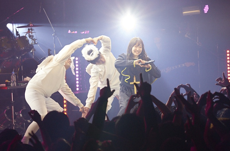 田所あずさ/2018年12月16日(日)、Zepp DiverCity TOKYOにて開催の「AZUSA TADOKORO LIVE 2018~RESOLVE~」にて。(C)ホリプロ