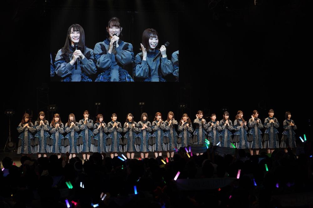 けやき坂46/「AGESTOCK2018」にて(2018年12月2日・ TOKYO DOME CITY HALL)