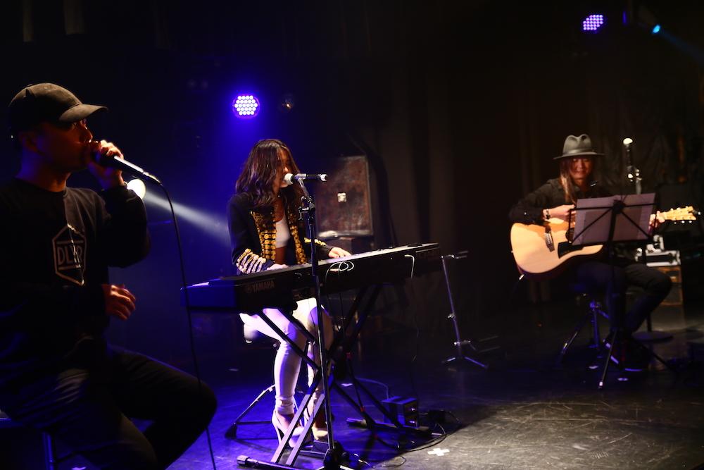 Meik(メイク)/2018年12月21日、渋谷 Club Asiaにて開催したChristmas LIVEにて。