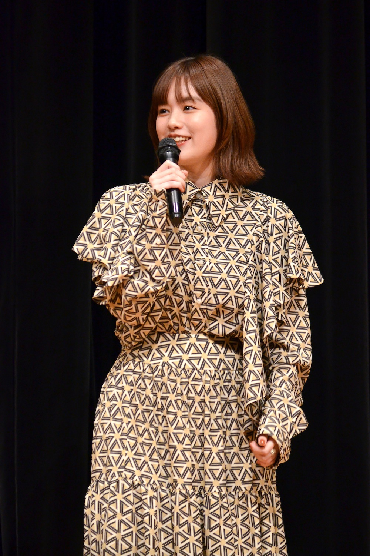 筧美和子/MBS/TBSドラマイズム『ゆうべはお楽しみでしたね』制作発表会にて(2018年12月26日)