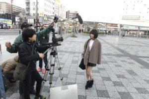 大西桃香(AKB48チーム8)/奈良市リニア新駅誘致PR動画・撮影