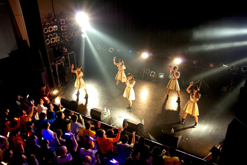 Shine Fine Movement/3rdワンマンライブにて(2018年12月8日、TSUTAYA O-WEST)