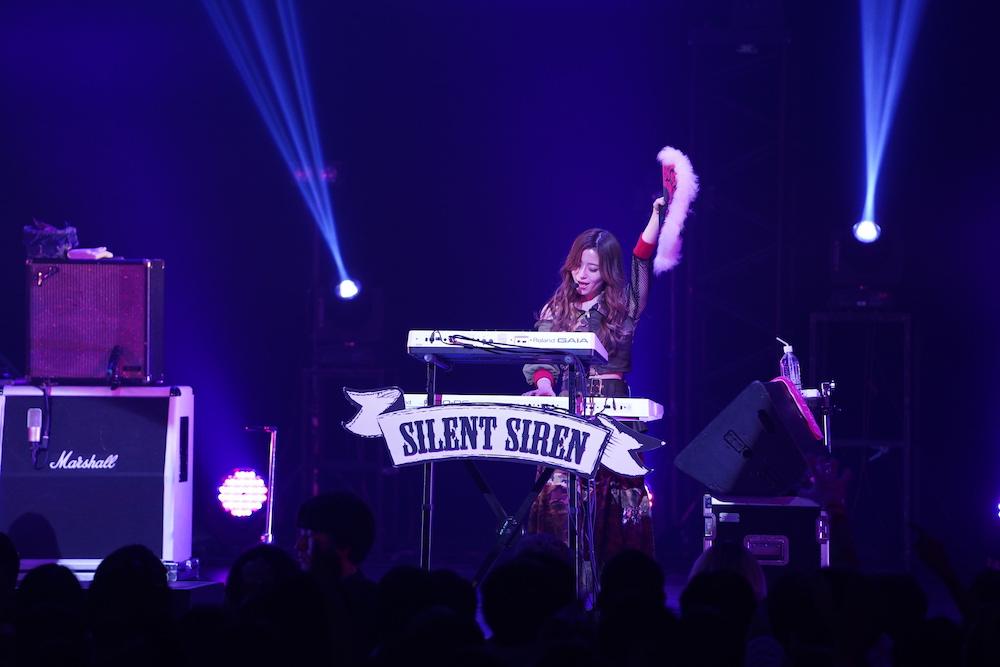 SILENT SIREN(サイレント・サイレン)/「AGESTOCK2018」にて(2018年12月2日・ TOKYO DOME CITY HALL)