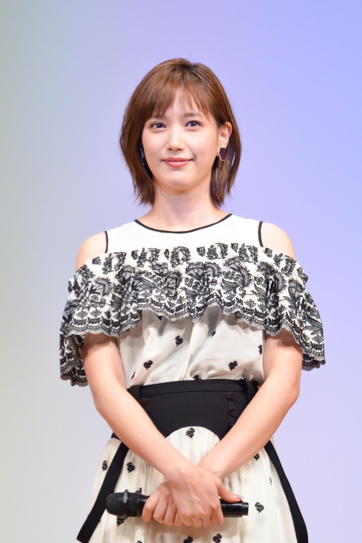 本田翼/MBS/TBSドラマイズム『ゆうべはお楽しみでしたね』制作発表会にて(2018年12月26日)