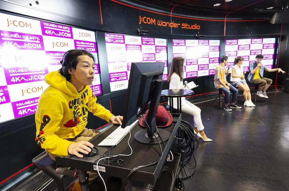 秋山ゆずき(女優)/J:COM Wonder Studioにて開催された映画「カメラを止めるな!」トーク・ライブショーにて(2018年12月1日)