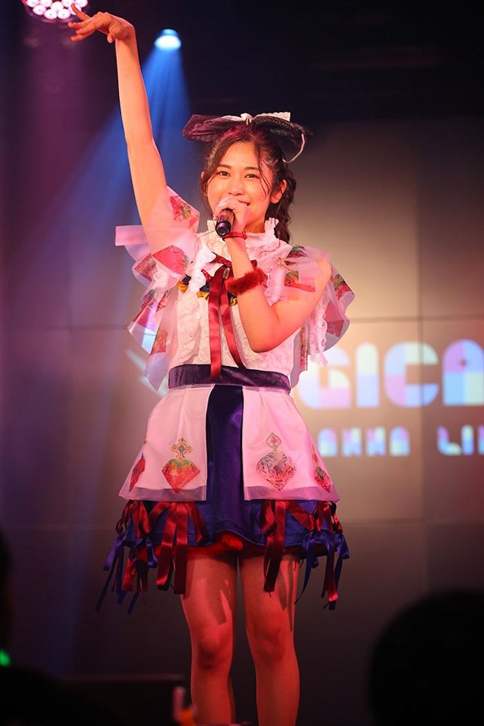浅野杏奈(マジカル・パンチライン)/2019年1月27日(日)、AKIBAカルチャーズ劇場にて開催されたライブにて