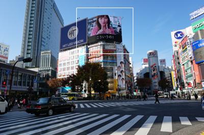 川口春奈/・ヤクルト ・渋谷屋外広告