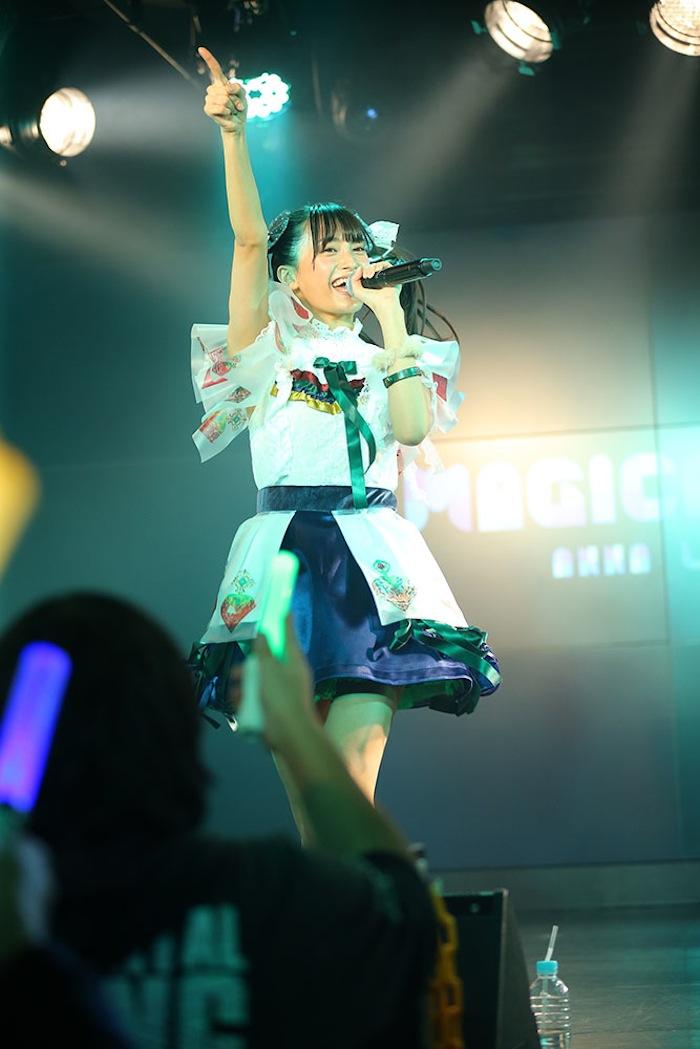 小山リーナ(マジカル・パンチライン)/2019年1月27日(日)、AKIBAカルチャーズ劇場にて開催されたライブにて