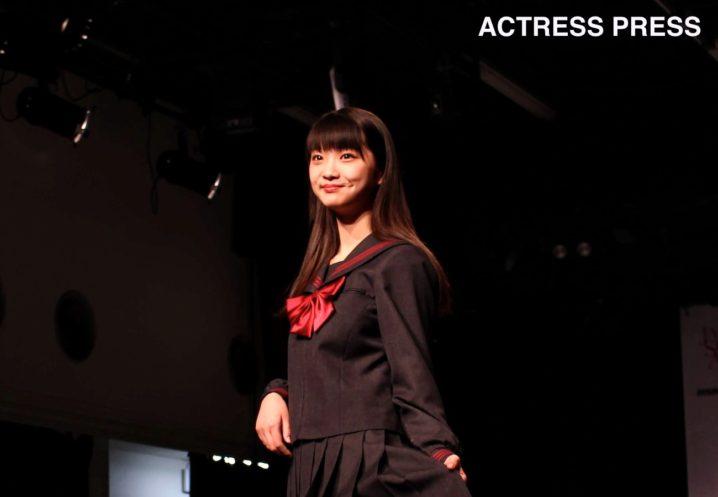 山下彩耶(やましたさや/夢みるアドレセンス)/「第6回日本制服アワード」にて(2019年1月27日):撮影:ACTRESS PRESS編集部