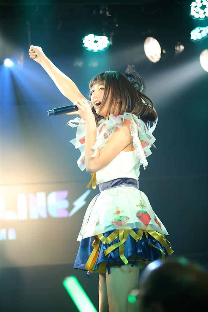 清水ひまわり(マジカル・パンチライン)/2019年1月27日(日)、AKIBAカルチャーズ劇場にて開催されたライブにて