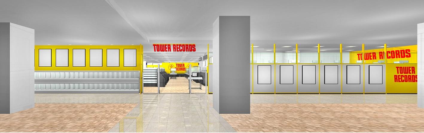 TOWER RECORDS(タワーレコード)錦糸町パルコ店・ファサードイメージ