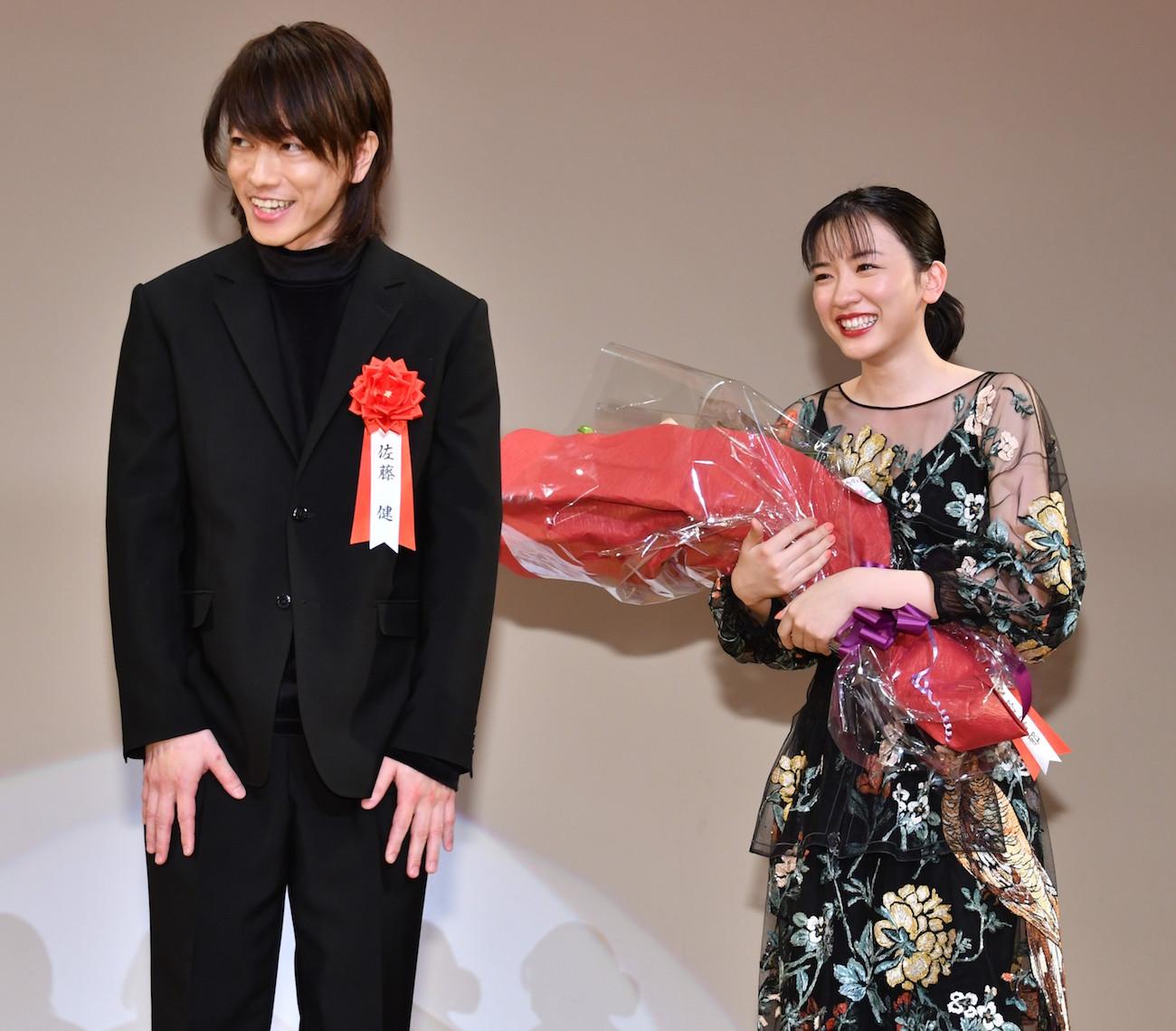 永野芽郁/2019年 エランドール賞 授賞式にて(2019年2月7日)