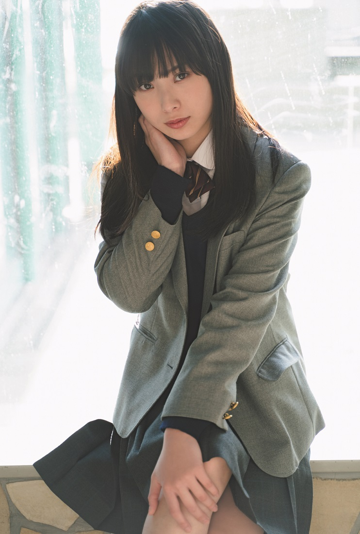 梅山恋和(NMB48)「graduation2019中学卒業」