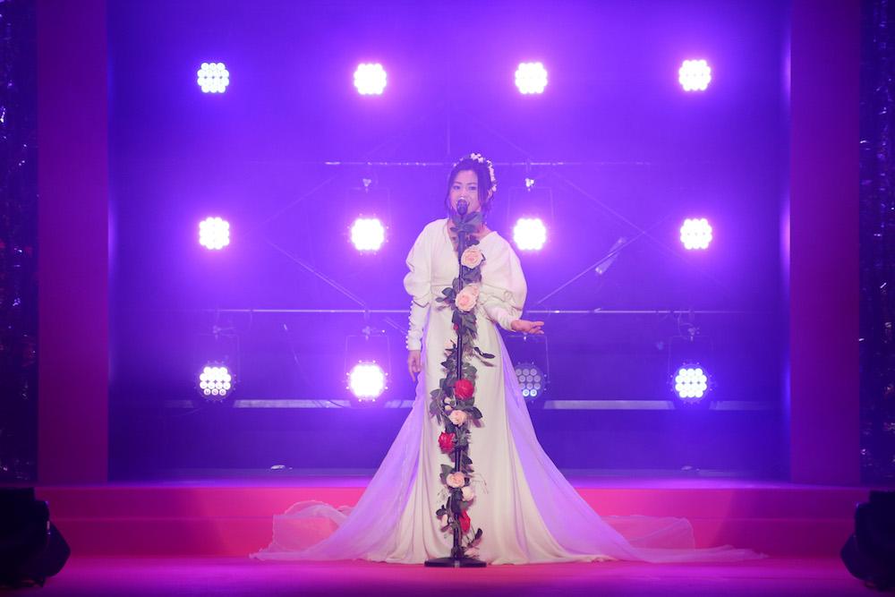倉木麻衣/『Samantha Thavasa 25周年キック・オフプレ発表会』イベントにて(2019年2月4日、渋谷ヒカリエホールA)