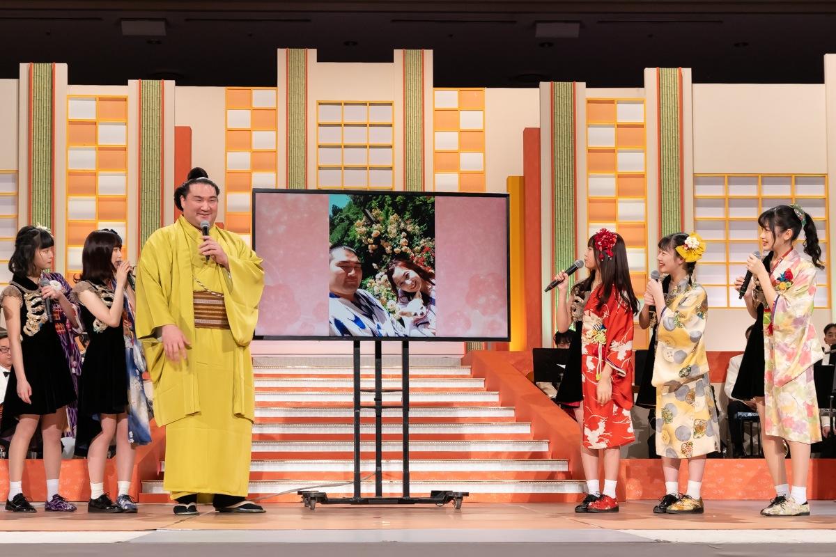 まねきケチャ/2019年2月9日(土)、東京・両国国技館にて開催された第52回「NHK福祉大相撲」にて