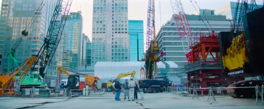 戸田建設株式会社・2020年の新卒向けのWeb動画「Building Symphony (建築篇)」