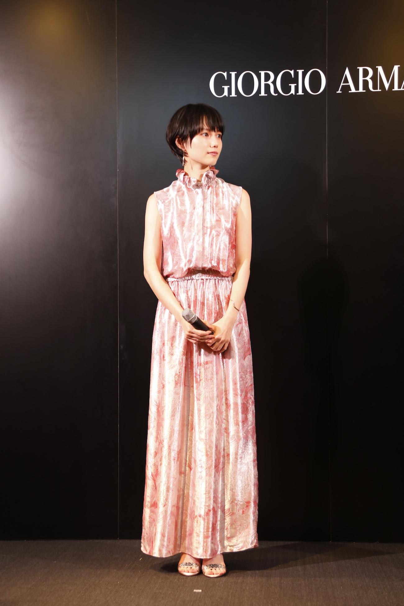 宮﨑あおい/アルマーニ / 銀座タワー リニューアルオープニングイベント(2019年3月20日 (水)