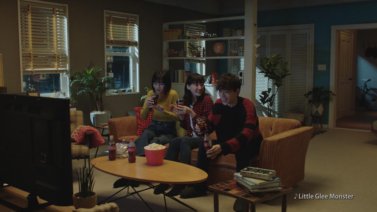 綾瀬はるか・菅田将暉・池田エライザ/CM『コカ・コーラテレビの時間はコーク』篇