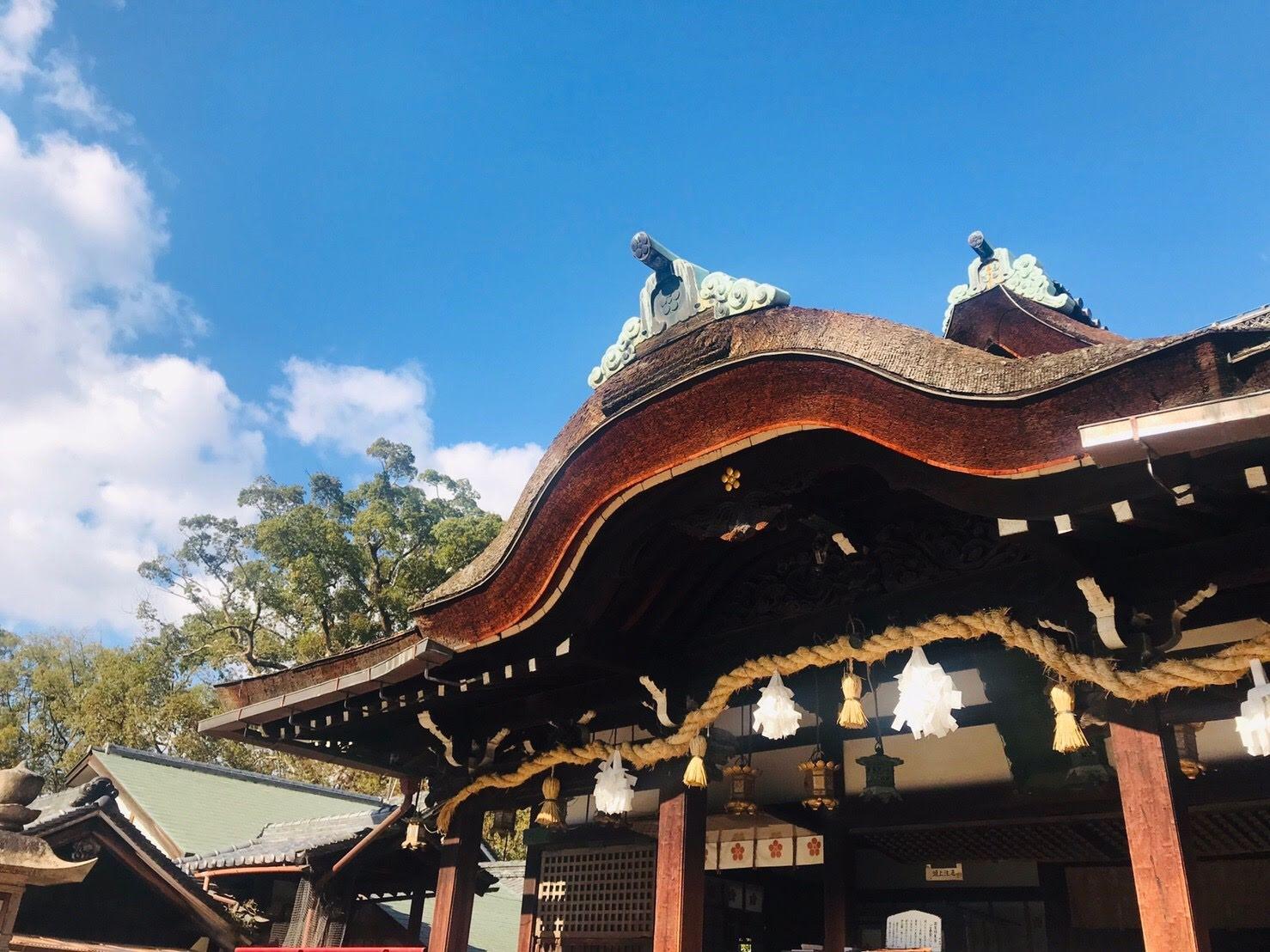 まちなか観光ワークショップのゴール地点ともなった道明寺天満宮