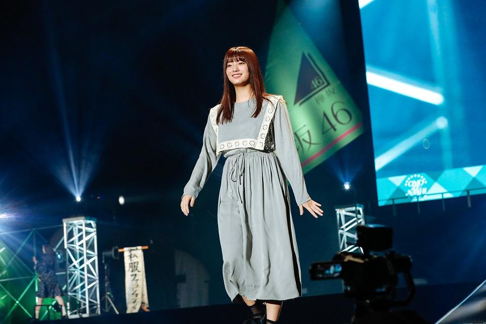 欅坂46二期生単独イベント「おもてなし会」(2019年4月28日、東京・武蔵野の森総合スポーツプラザメインアリーナにて)