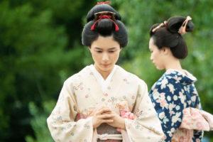 芳根京子/映画『居眠り磐音』©2019映画「居眠り磐音」製作委員会