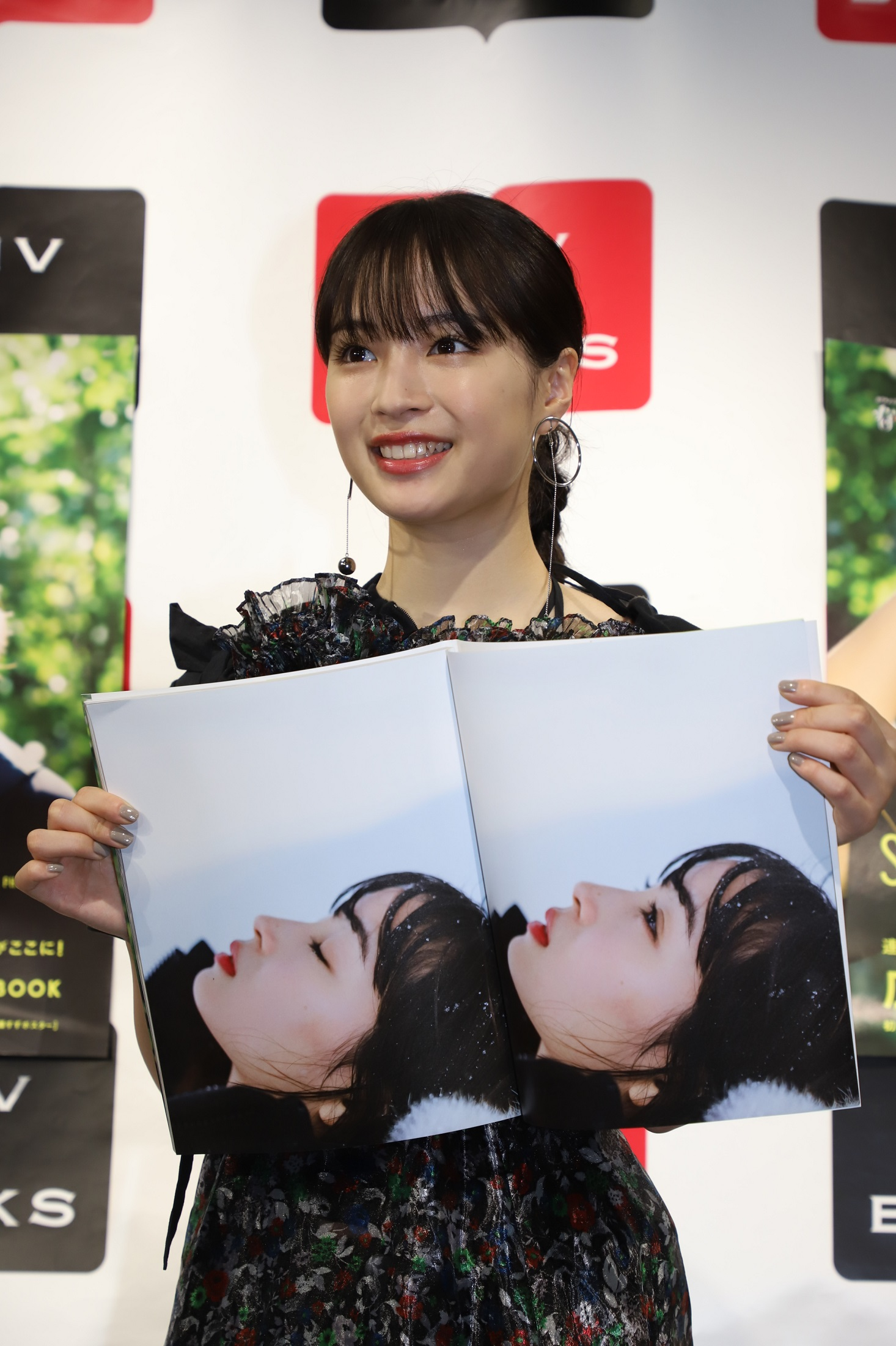 広瀬すず/「広瀬すず in なつぞら」PHOTO BOOK発売記念イベントにて(2019年5月4日、HMV&BOOKS SHIBUYA)