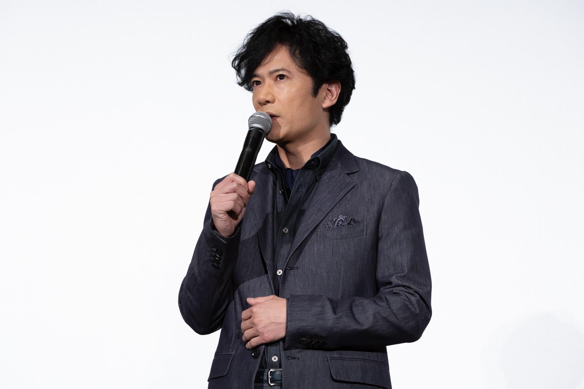 稲垣吾郎/映画『海獣の子供』初日舞台挨拶