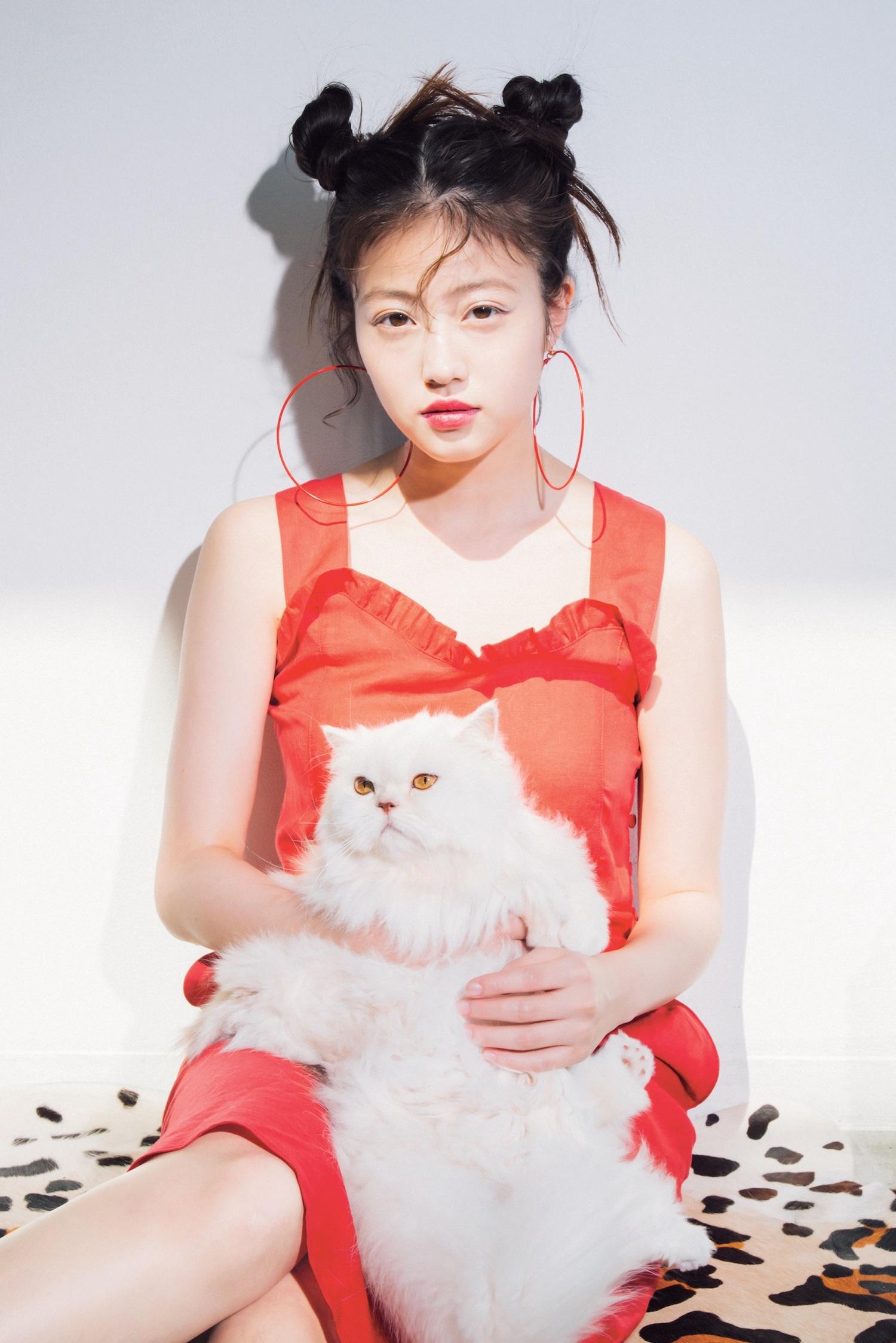 今田美桜(いまだ みお/女優)ViVi 2019年8月号