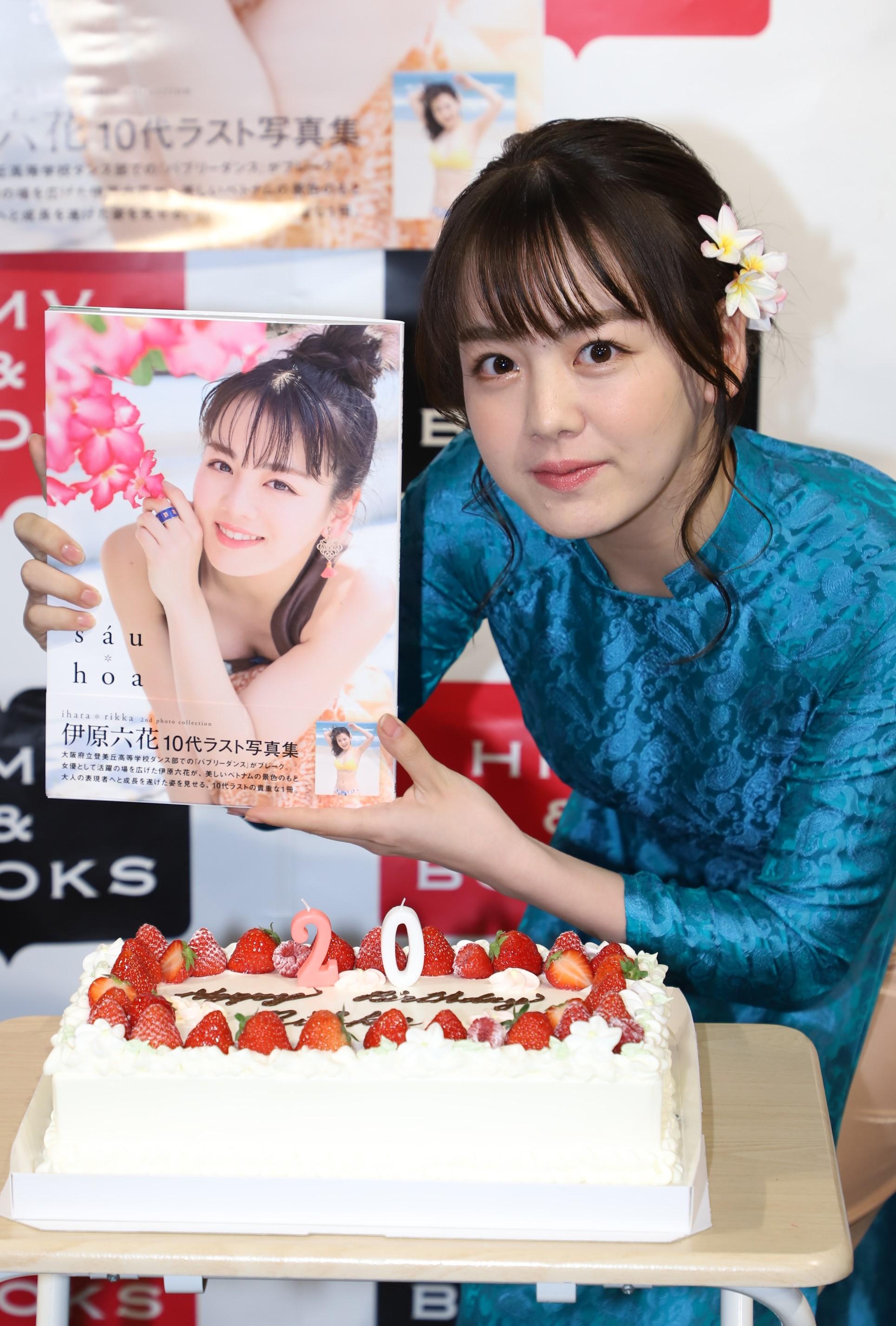 伊原六花/2nd写真集「sáu hoa」発売記念イベントにて(2019年6月2日、HMV&BOOKS SHIBUYAにて)