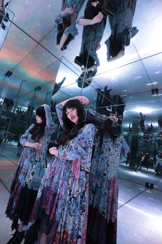 2019年7月24日、東京・COACH表参道で行われた『Coach×Kiko Mizuhara Capsule Collection』の発表イベントにて