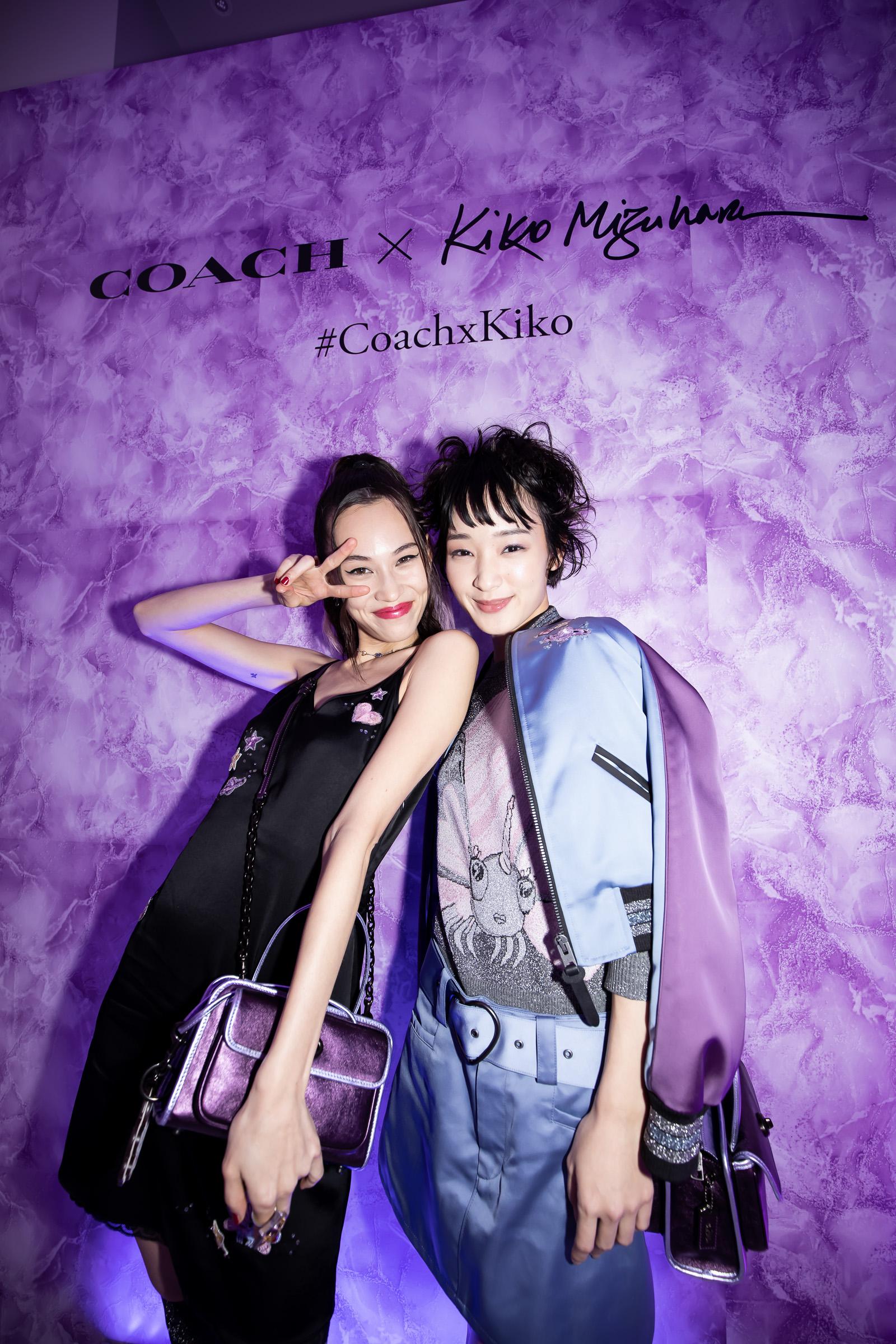 水原希子/2019年7月24日、東京・COACH表参道で行われた『Coach×Kiko Mizuhara Capsule Collection』の発表イベントにて