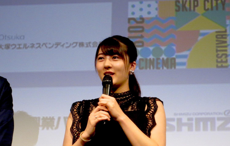 宇野愛海/映画『歩けない僕らは』(2019年7月19日(金、川口市・SKIPシティ国際Dシネマ映画祭2019)
