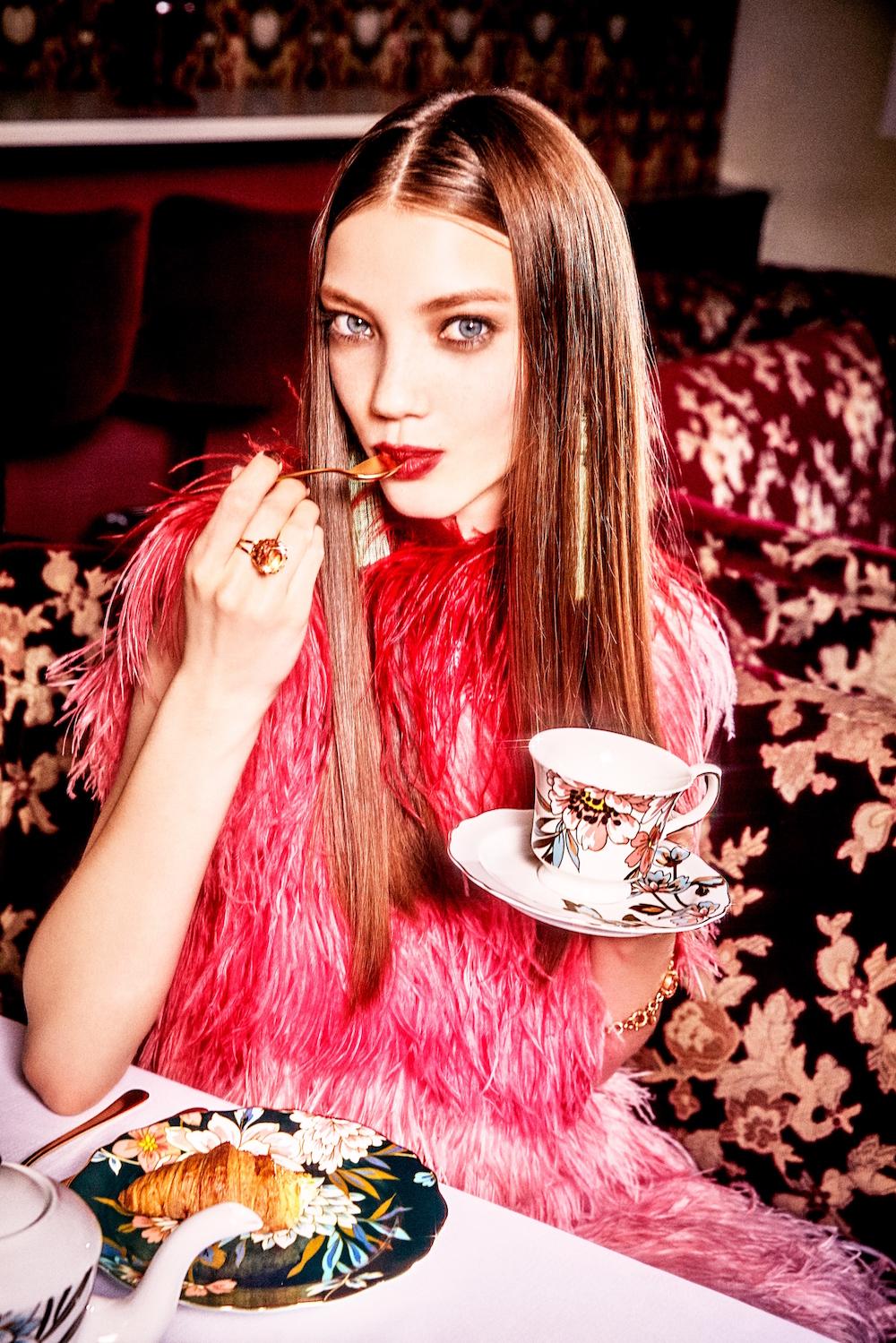 Francfranc(フランフラン)2019 Autumn & Winter Collection の新ビジュアル(ファッションフォトグラファーELLEN VON UNWERTH(エレン・フォン・アンワース:以下エレン)を起用)