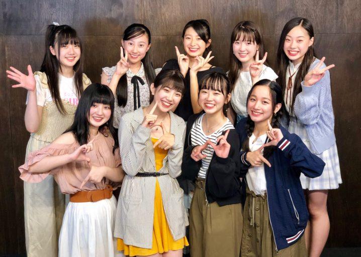 若手女性ユニット「ローファーズハイ!!」選抜メンバー