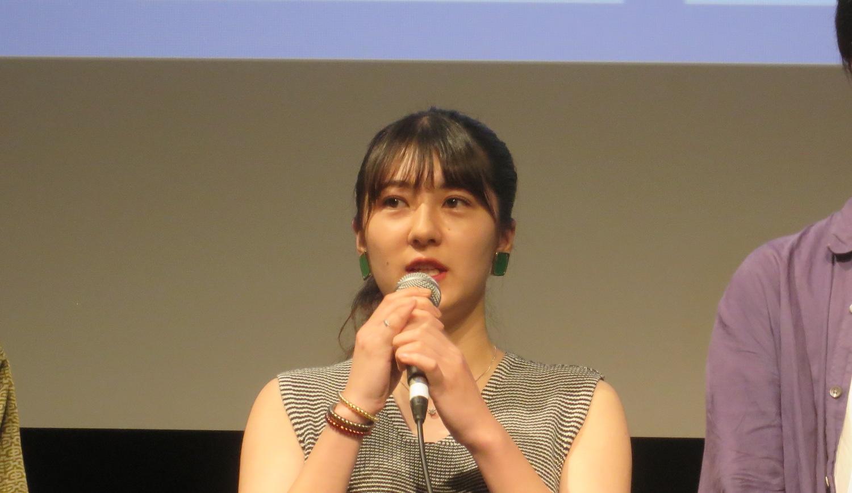 宇野愛海/映画『歩けない僕らは』 より登壇/SKIPシティ国際Dシネマ映画祭2019(2019 年 7 月 15 日)