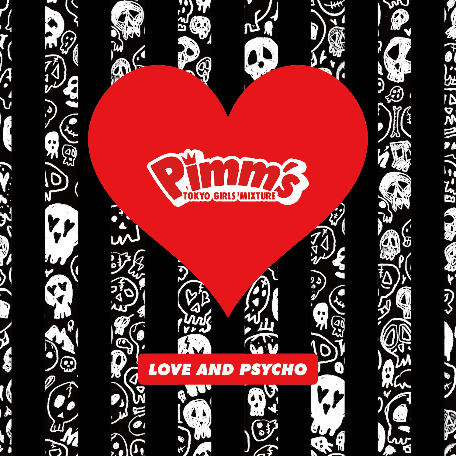 Pimm's・2nd MiniAlbum「LOVE AND PSYCHO」