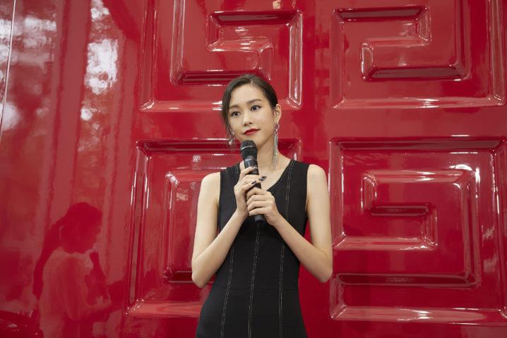 桐谷美玲/「ルージュ・ジバンシイ ファクトリー」発表会(2019年8月22日、表参道 R スタジオにて)