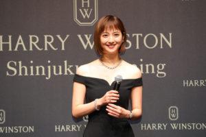 佐々木希/「ハリー・ウィンストン新宿店」オープニングセレモニー