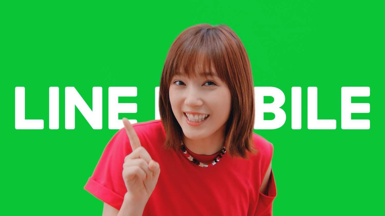 本田翼/新TVCM「LINEモバイルダンス・リアルユーザー」篇