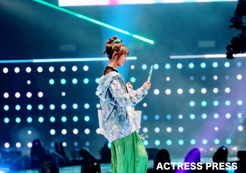 齋藤飛鳥(さいとう あすか/乃木坂46)2019年9月7日、TGCステージにて/撮影:ACTRESS PRESS編集部