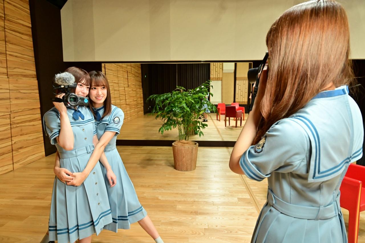 『セルフ Documentary of 日向坂46』(佐々木久美、高本彩花、東村芽依)