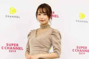 宇垣美里(2019年9月21日、「SUPER C CHANNEL」にて)/撮影:ACTRESS PRESS編集部