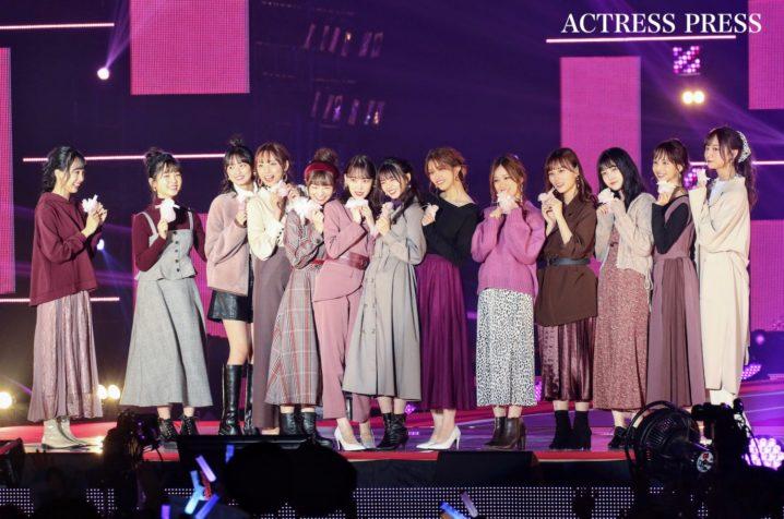 乃木坂46/2019年9月28日、GirlsAward2019AW/撮影:ACTRESS PRESS編集部